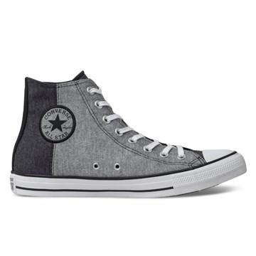 Tênis Converse All Star Chuck Taylor HI Preto Cinza CT14440001