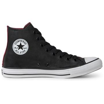 Tênis Converse All Star Chuck Taylor HI Preto Vermelho CT13440002