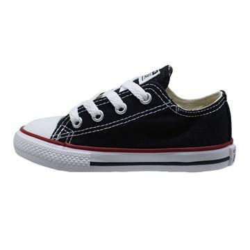 Tênis Converse All Star Chuck Taylor Kids OX Preto CK00010007