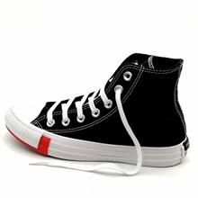 Tênis Converse All Star Chuck Taylor Logo Play HI Preto Vermelho CT13230001