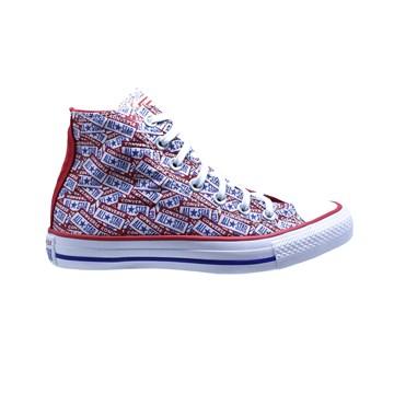 Tênis Converse All Star Chuck Taylor Logo Play HI Vermelho Azul CT13150001