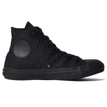 Tênis Converse All Star Chuck Taylor Monochrome HI Preto CT04470002