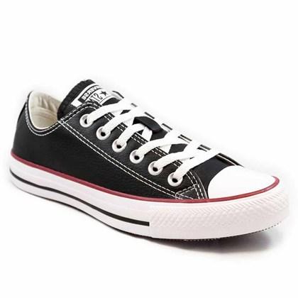 Tênis Converse All Star Chuck Taylor New Malden OX Preto Vermelho CT04500003