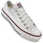 Tênis Converse All Star Chuck Taylor Platform OX Branco CT04950003
