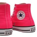 Tênis Converse All Star Chuck Taylor Seasonal HI Rosa Choque CT04190050
