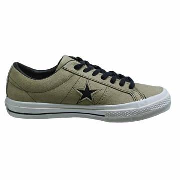 Tênis Converse All Star One Star OX Caqui Preto CO03000002