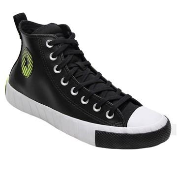 Tênis Converse UNT1TL3D HI Preto Verde Limão CT14540001
