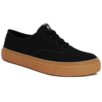 Tênis Kings Sneakers Lona Esportiva 3004 Preto Bege