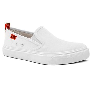 Tênis Kings Sneakers Lona Esportiva 3007 Branco