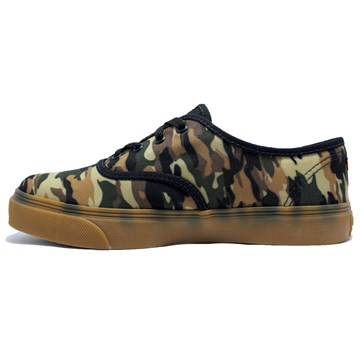 Tênis Kings Sneakers Oxford 3004 Camuflado Militar