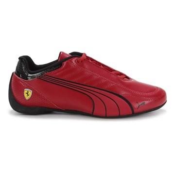 Tênis Puma Ferrari Race Future Kart Cat Masculino - Vermelho e Preto