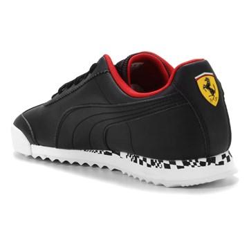 Tênis Puma Ferrari Race Roma Masculino - Preto e Vermelho