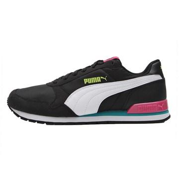 Tênis Puma Runner V2 NL Feminino - Preto e Branco