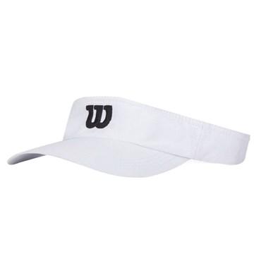 Viseira Wilson Core Logo - Branco