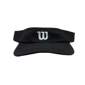 Viseira Wilson Core Logo - Preto